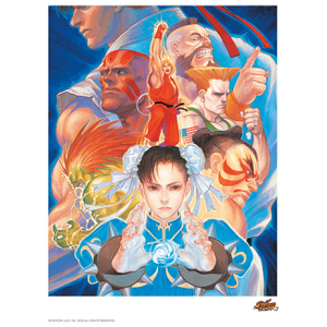 Affiche Street Fighter That's Good Kung - Fu ! - Fine Art