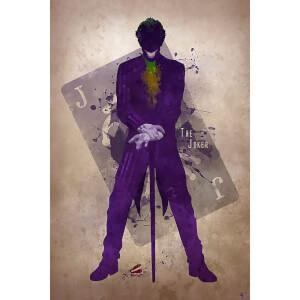 Affiche inspiration Joker-42cm x 30cm