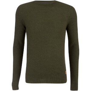 Threadbare Men's Sedley Waffle Jumper - Barbour