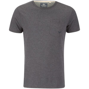 T-Shirt Homme Threadbare Jack Pocket - Gris Foncé