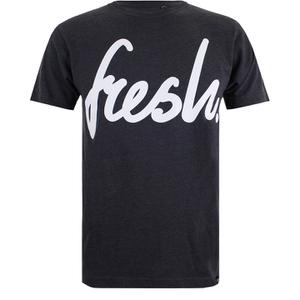 Cotton Soul Men's Fresh Mono T-Shirt - Charcoal