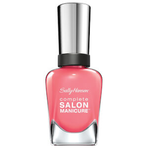 Sally Hansen Complete Salon Manicure 3.0 Keratin Strong Nail Varnish - Red Zin 14.7ml