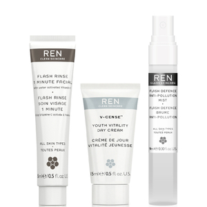 REN Banish Urban Grey Collection (Worth $20.24)