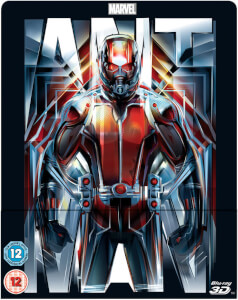 Ant-Man 3D (Inklusive 2D Version) -Zavvi Exklusive Lentikular Steelbook UK Edition