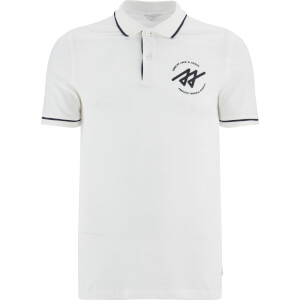 Jack & Jones Men's Core Reverse Tipped Polo Shirt - Blanc De Blanc