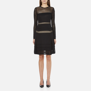 Diane von Furstenberg Women's Celina Dress - Black