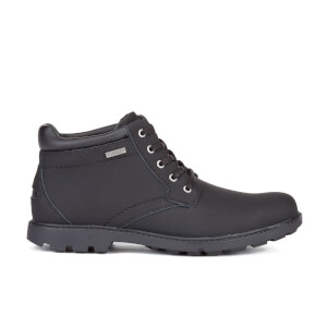 Rockport Men's Storm Surge WP Plain Toe Boots - Black