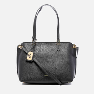 Lauren Ralph Lauren Women's Anfield Claire Shopper Bag - Black