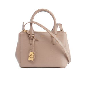Lauren Ralph Lauren Women's Newbury Mini Zip Satchel - Porcini