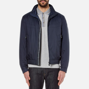 BOSS Green Men's Jakes Zipped Jacket - Navy