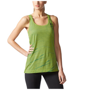 adidas Women's Prime Graphic Training Tank Top - Yellow