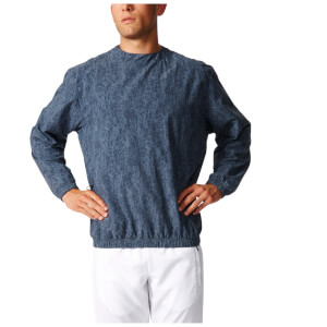 adidas Men's Stone Training Crew Sweatshirt - Blue