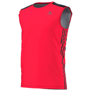 adidas Men's Cool 365 Training Sleeveless T-Shirt - Red