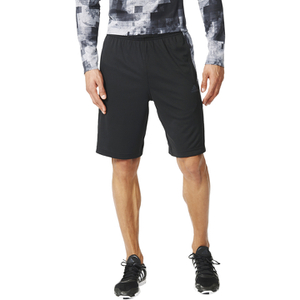 adidas Men's Cool 365 Training Long Shorts - Black