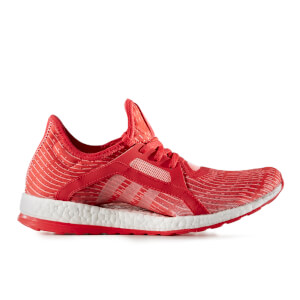 adidas Women's Pure Boost X Running Shoes - Red