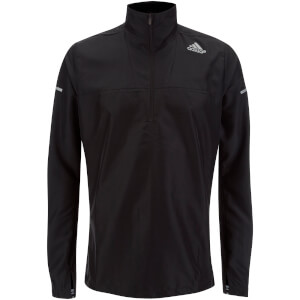 adidas Men's Sequencials Running Anorak - Black