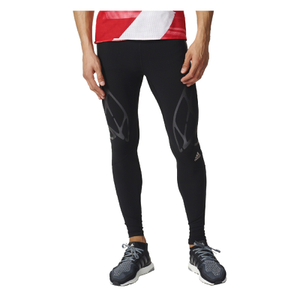 adidas Men's Adizero Sprintweb Running Long Tights - Black
