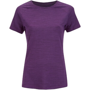 adidas Women's Performance Training T-Shirt - Purple