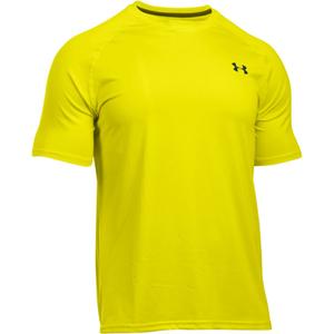 Under Armour Men's Tech Short Sleeve T-Shirt - Flash Light/Stealth Grey