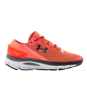 Under Armour Women's SpeedForm Gemini 2.1 Running Shoes - Brilliance Pink/White