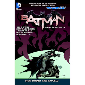 Batman: Night of the Owls Graphic Novel