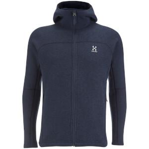 Haglofs Men's Swook Hood Zipped Fleece - Deep Blue