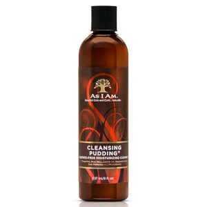 Limpiador Hidratante Cleansing Pudding de As I Am 237 ml
