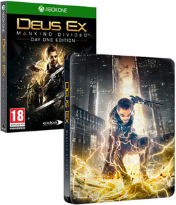 Steelbook Édition Limitée Deus Ex: Mankind Divided