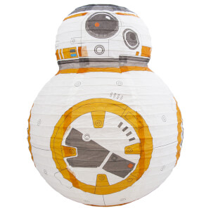 Star Wars BB-8 Paper Shade - White/Orange/Grey: Image 2
