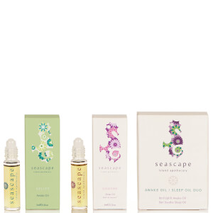 Seascape Island Apothecary Awake Oil/Sleep Oil Duo Gift Set