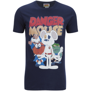 Danger Mouse Heren T-Shirt - Navy