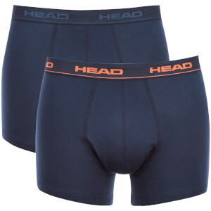 Lot de 2 Boxers Head -Marine