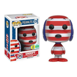Peanuts Patriotic Snoopy Pop! Vinyl Figur SDCC 2016 Exclusive