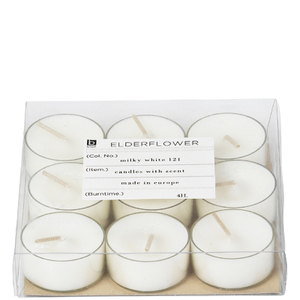 Broste Copenhagen Tealights - Elderflower (Set of 12)
