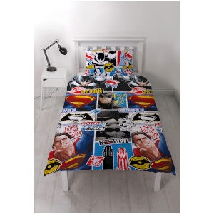 Set de cama reversible Batman v Superman