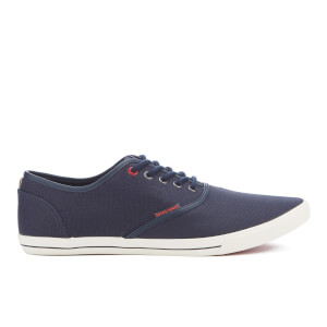 Jack & Jones Men's Spider Waxed Canvas Pumps - Navy Blazer