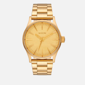 Nixon The Sentry 38 SS Watch - Gold