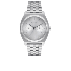Nixon Time Teller Deluxe Watch - Silver