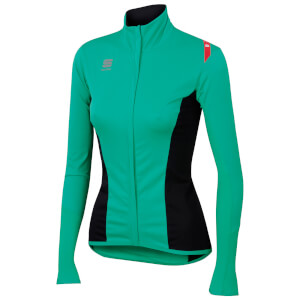 Sportful Women's Fiandre Light NoRain Long Sleeve Jersey - Black