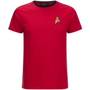 Star Trek Men's Command Uniform T-Shirt - Red: Image 1