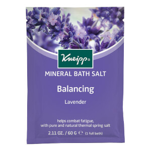 Kneipp Lavender Balancing Mineral Bath Salt Sachet - 2.11oz