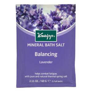 Kneipp Lavender Balancing Mineral Bath Salt Sachet - 2.11oz