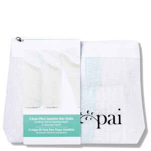 Pai Dual-Effect Sensitive Skin Cloth (3er-Pack)