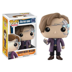 Figura Pop! Vinyl Dr. Undécimo como Mr. Clever - Doctor Who