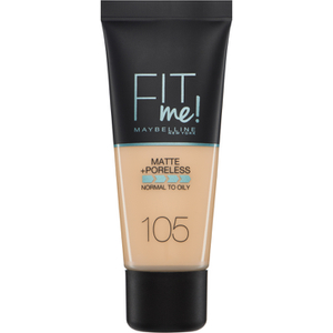 Maybelline Fit Me! Matte and Poreless Foundation 30 ml (διάφορες αποχρώσεις)