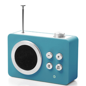 Lexon Mini Dolmen Radio - Blue