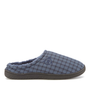 Dunlop Men's Absolon Check Slippers - Navy
