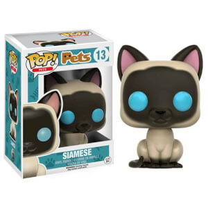 Figurine Pop! Pets Chat Siamois Funko Pop!