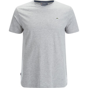 Le Shark Men's Darsham Crew Neck T-Shirt - Light Grey Marl