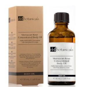 Концентрированное масло для тела Moroccan Rose от Dr Botanicals, 50 мл
